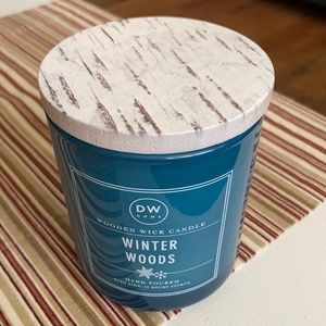 DW Home Winter Woods Wooden Wick Candle